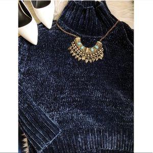 Cynthia Rowley Sweaters - Cynthia Rowley Chenille TurtleNeck Sweater Siz XL